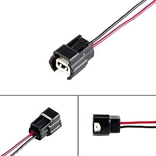 Nicecnc 6pcs Fuel Injector Connectors Pigtail Replace Infiniti J30 1993-1997,Nissan 300ZX,240sx 200zx Silvia RB25DET SR20DET S13 R32,VG30DE,VG30DETT,RB25DET,SR20DET,VH45DE