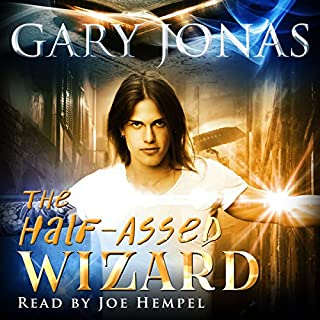 The Half-Assed Wizard cover art
