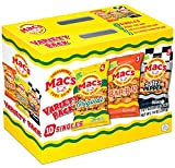 Mac's Pork Skins Variety Pack 10oz, pack of 1