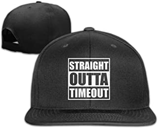 Womens Straight Outta Timeout Dad Hat Classic Holiday Draving Cap