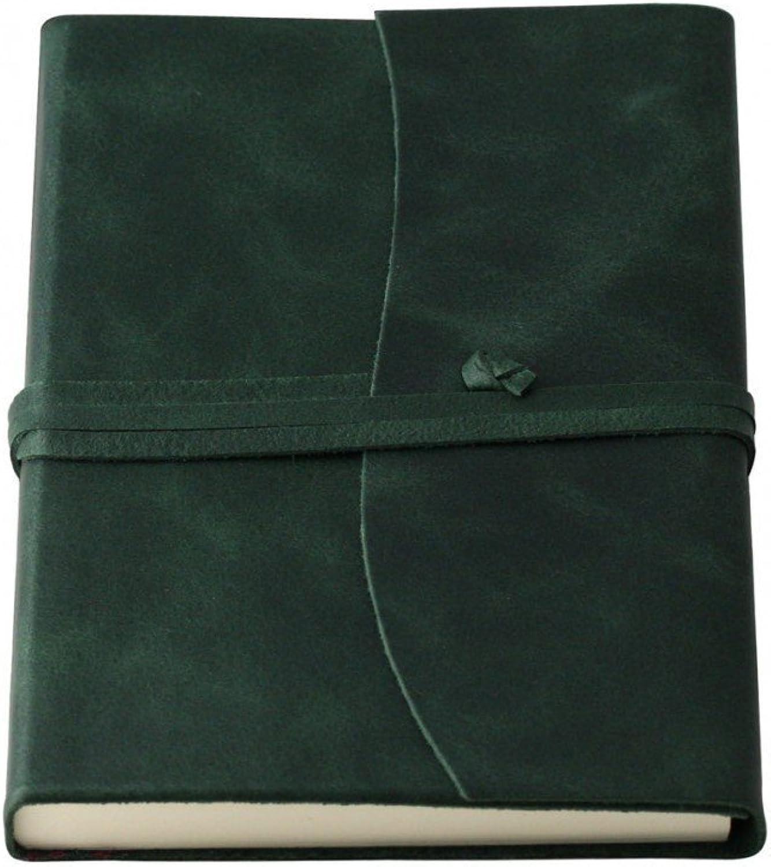 Coles Amalfi Tagebuch, Tagebuch, Tagebuch, groß, Leder, Grün B016ZOMAJ8 | Neuartiges Design  311d8b