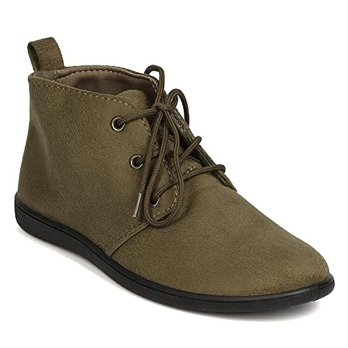 buy \u003e women's lace up ankle boots flat