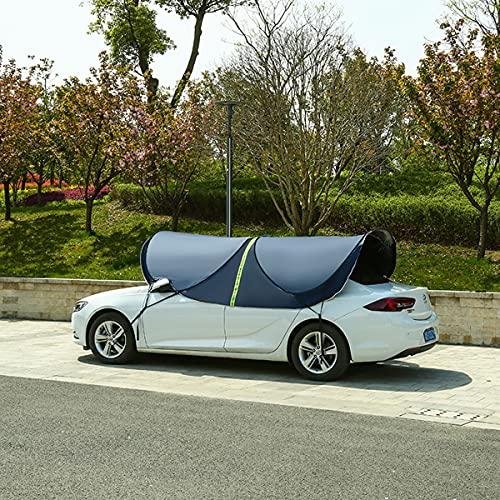 Parasoles Coche Manual/Tienda De Campaña Para Coche Para Protección Solar/Car Tent Impermeable,Adecuada Para Automóviles Y Vehículos Todoterreno Con Un Ancho De 1.6m-1.9m Y Una Altura De 1.4m-2m,C
