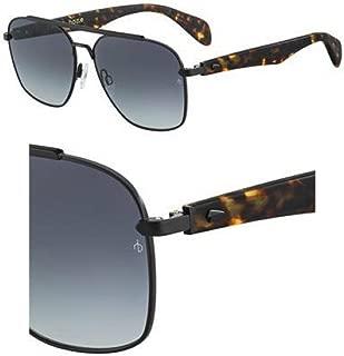 Sunglasses Rag and Bone Rnb 5004/S 00AM Matte Black Havana/9O dark gray gradi