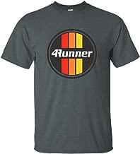 Men's Toyota 4Runner T-Shirt Retro Logo Racing Stripes Graphic Tee Truck