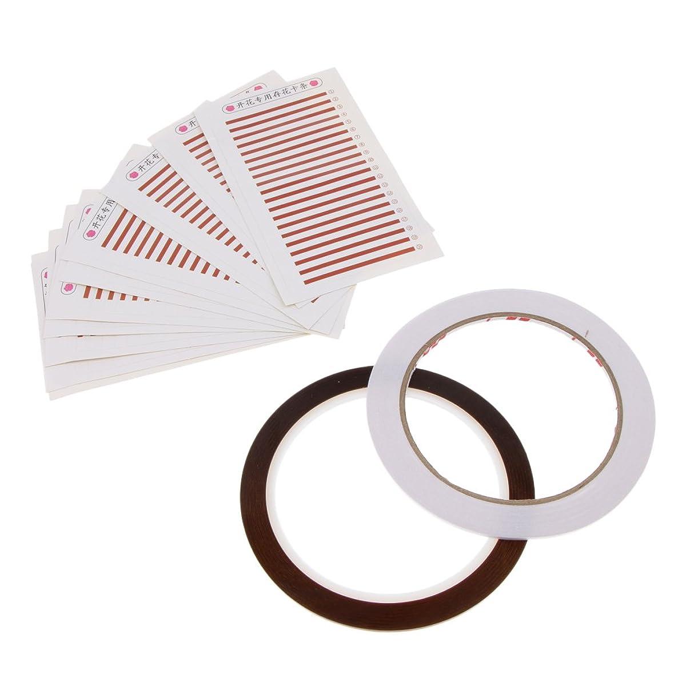 不当揮発性ショルダーPerfk 個々のまつげ まつげカード まつげ 付けまつげ 接着剤テープ プロ 美容院 美容教室