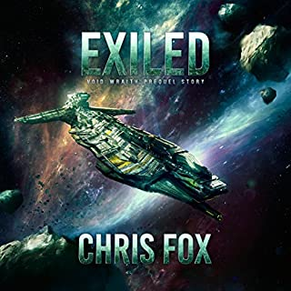 Exiled: Void Wraith Prequel Story audiobook cover art