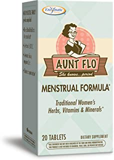 Enzymatic Therapy Aunt Flo™ Menstrual Formula Woman's Herbs, Vitamins & Minerals, 20 Count
