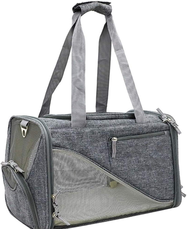 Breathable OneShoulder Portable Out Folding Collapsible Portable Pet Bag New Dog Travel Bag