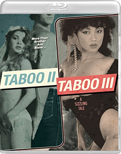 Taboo 2 & Taboo 3 by Vinegar Syndrome (Kay Parker)