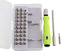Storin 32 in 1 Mini Screwdriver Bits Set with Magnetic Flexible Extension Rod for Home Appliance,Laptop,Mobile,Computer Re...