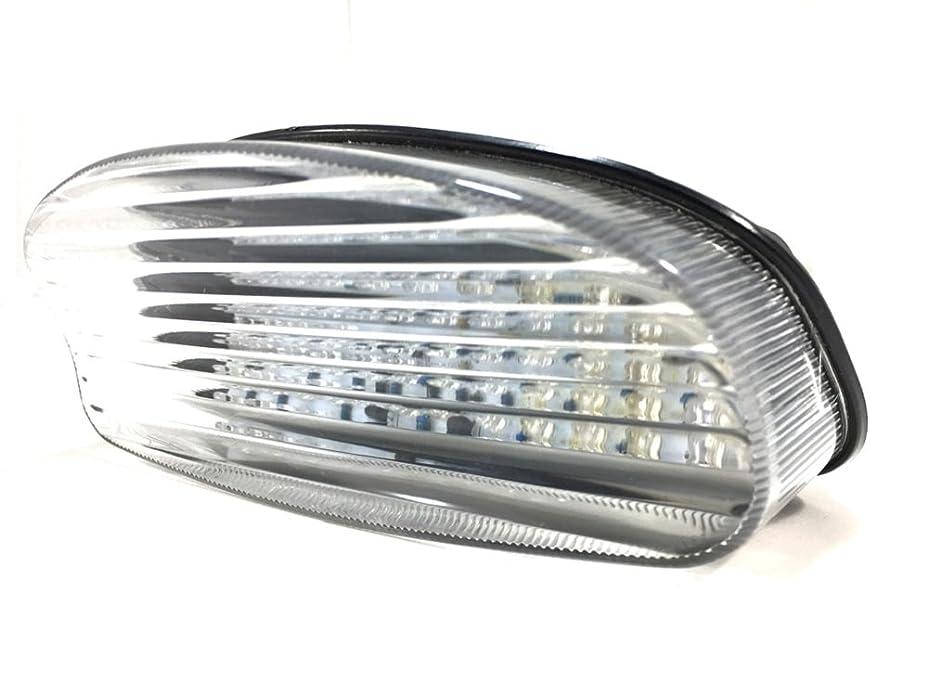 タウポ湖中絶封筒ホンダ 用 LED ライト テール ランプ ブレーキ スモール ウインカー ナンバー 灯 付き クリア スモーク レンズ CBR 1100XX ホーネット 250/600 バイク カスタム パーツ 社外品