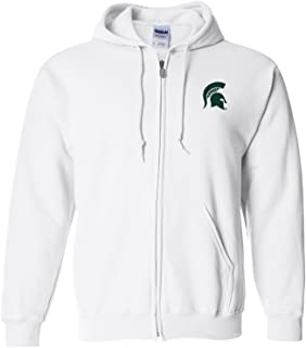 NCAA Primary Logo, Team Color Full Zip Hoodie, College, University