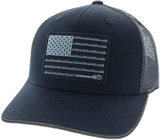 Men's Liberty Roper Flag Patch Cap - 1905T-Blwh