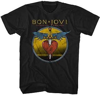 BON JOVI ボン・ジョヴィ (デビュー35周年記念) - BAD NAME/Tシャツ/メンズ 【公式/オフィシャル】