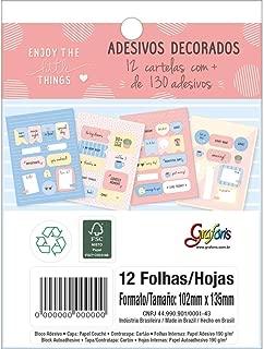 Ades Dec Bloco Soho 12F Tilibra, Multicor