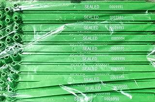 Duebass Green Tite-Lock Plastic Truck Door Seal (Package of 100)