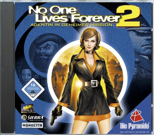 Preisvergleich Produktbild No One Lives Forever 2: Agentin in geheimer Mission [Software Pyramide]