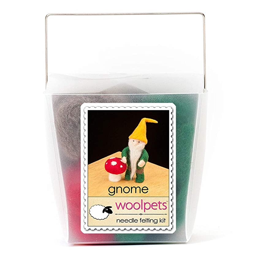 Woolpets, Needle Felting Kit, Intermediate, Gnome, 1039