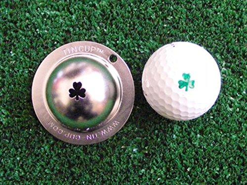 Tin Cup Shamrock Golf Ball Custom Marker Alignment Tool