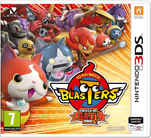 Yo-Kai Watch Blasters:Cricca Gatti Rossi