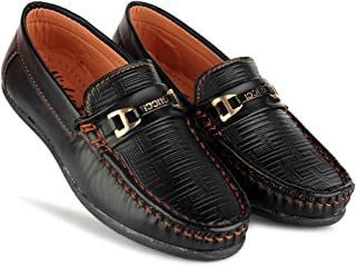 SHIVAY Designer Ultra Comfort Synthetic Leather Casual Loafers for Boys and Kids