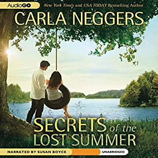 Secrets of the Lost Summer audiobook cover art