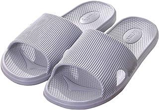 Jiyaru Quick Drying Slippers Casual Summer Clogs Anti-Slip Beach Shoes Sandals for Men Women