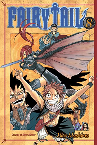 Fairy Tail Vol. 8 (English Edition)