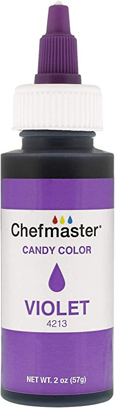 Chefmaster By US Cake Supply 2 Ounce Liquid Candy Food Color Color Violet