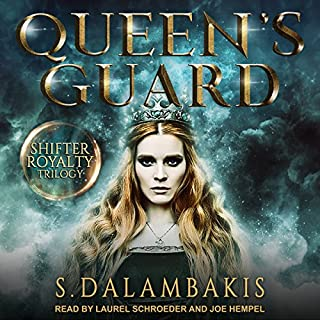 Queen's Guard     Shifter Royalty Trilogy Series, Book 2              Auteur(s):                                                                                                                                 S. Dalambakis                               Narrateur(s):                                                                                                                                 Joe Hempel,                                                                                        Laurel Schroeder                      Durée: 5 h et 38 min     7 évaluations     Au global 3,6