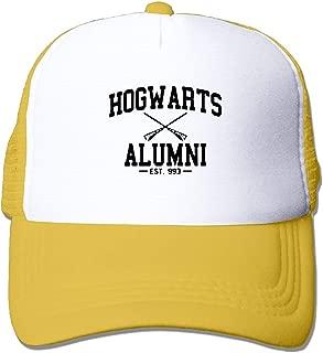 Hogwarts Alumni Summer Sun Protection Mesh Cap Baseball Hat Cap Adjustable