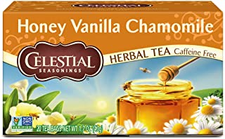 Celestial Seasonings Herbal Tea, Honey Vanilla Chamomile, 20 Count