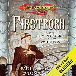 Firstborn audiobook cover art