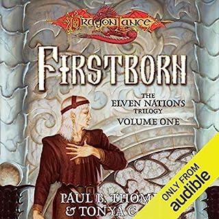 Firstborn audiobook cover art