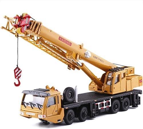 la mejor selección de HBWJSH 1 55 aleación aleación aleación de Modelos de Camiones grúa grúa Pesada Coche Modelo de simulación de Juguete  punto de venta de la marca