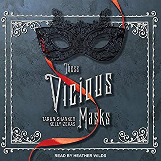 These Vicious Masks audiobook cover art