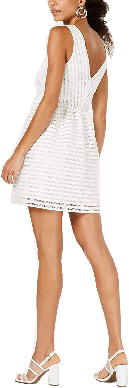 Bar III Womens Sleeveless Mini Party Dress