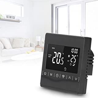 WiFi Thermostat, App Control Voice Control Thermostat, LCD Touch for Office Home
