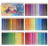 150 Couleurs Crayons de couleur aquarellable Crayons d'artiste Crayons à Dessin...