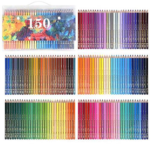 150 Farben Buntstifte Set Aquarelle Wasserlösliche Farbstifte Set Kunst Farbige Zeichnung Aquarelle Artist Sketch Malerei