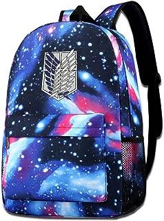 Attack On Titan Shoulder Bag Fashion School Star Printed Bag