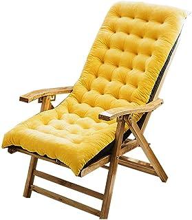 N/T Cojín para tumbona, cojín para silla, respaldo alto, cojines para silla mecedora, suave y extraíble, para el patio interior y exterior