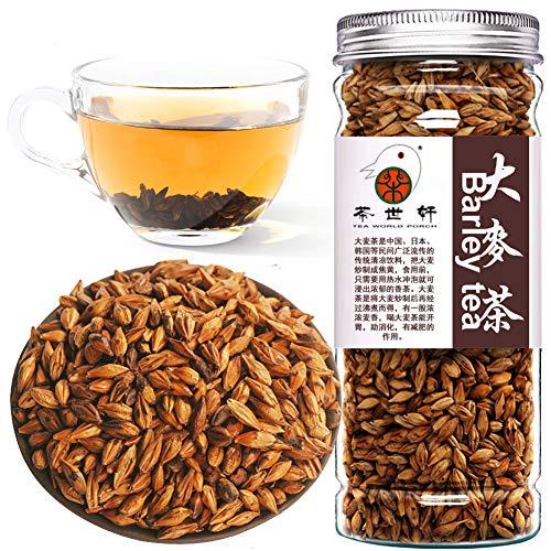 Plant Gift 100% Black Barley Tea, Tè d'orzo, Caffè orientale Perdita di peso Veloce Tè dimagrante Pancia sottile Brucia i grassi Slim Salute Tè naturale ai fiori di erbe 200 g / 7 oz