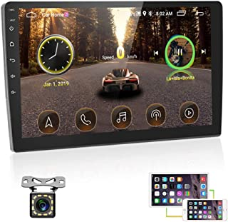 """UNITOPSCI 10.1"""" Double Din Android Car Stereo with..."""