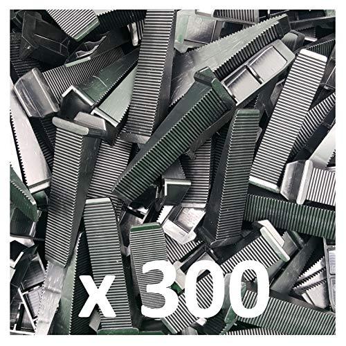 Perfect Level Pro Kit di livellamento per piastrelle 2 mm distanziatore autolivellante professionale basi 7710 + 1 pinza PerfectLevel PLP 500 clip + 200 angoli tasselli
