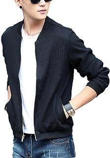 (ナチュシー) NatuSe メンズ ジャケット ブルゾン フライトジャケット ジャンパー MA-1 ノーカラー