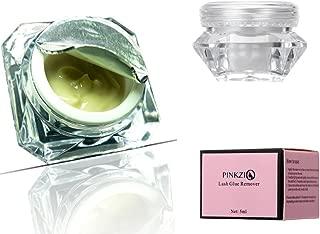 Eyelash Extension Glue Remover, Pinkzio Cream Remover For Eyelash Extension Glue, Fast Lash Adhesive Dissolution.Individual Lash Extension Glue Remover.5g
