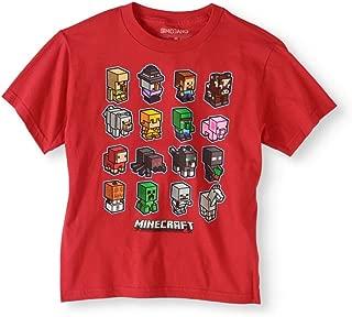 Minecraft Boys' Short Sleeve Mini Mob Graphic T-Shirt