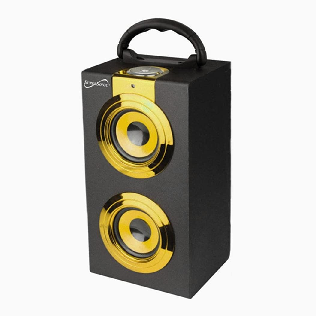 Supersonic Portable Speaker with Rechargeable Battery and FM Radio consumer electronics Electronics